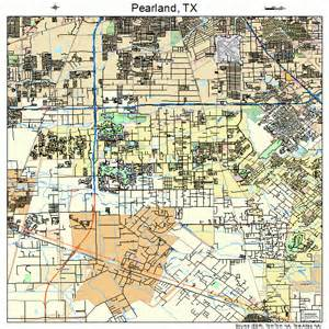 pearland map 4856348