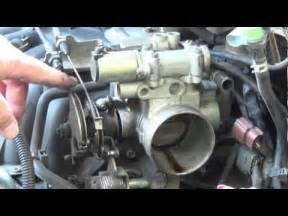 how to install replace tps throttle position sensor gm 5