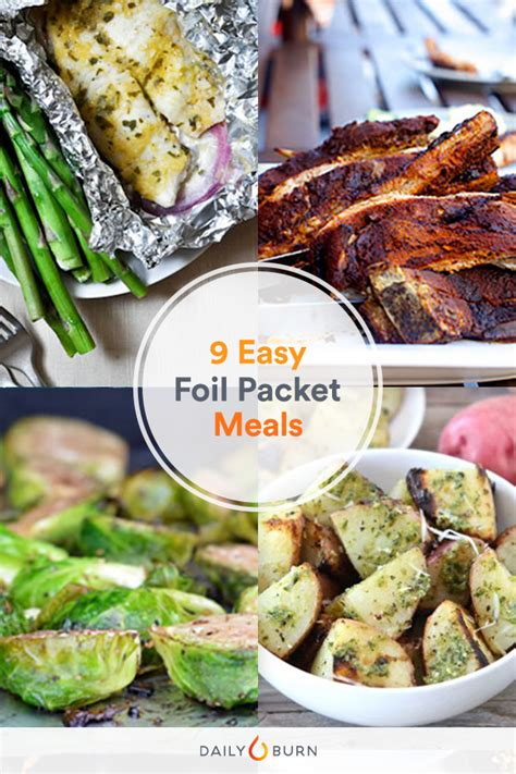 easy foil pack recipes for cing food easy recipes