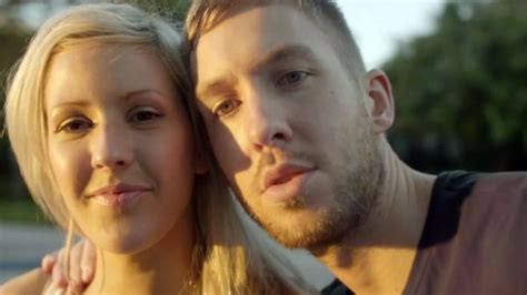 ellie goulding boyfriend calvin harris www imgkid com calvin harris ellie goulding s i need your love video