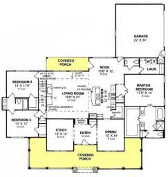 3 bedroom country floor plan 655904 3 bedroom 25 bath country farmhouse with split