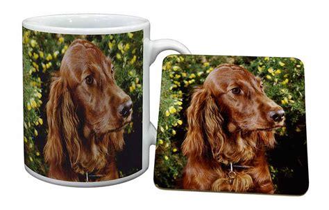 irish setter dog gifts irish red setter dog mug coaster christmas birthday gift