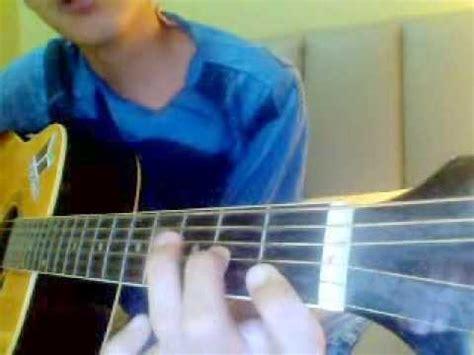 tutorial cara main gitar cara main gitar kord asas contoh lagu tegar aku yang dulu
