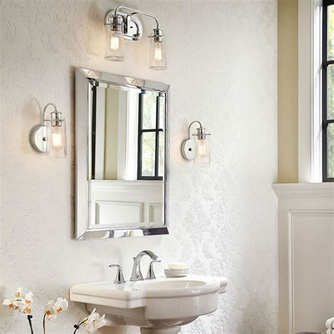 Bathroom Vanity Light Fixtures Ideas Coastal Vanity Light Bathroom Lighting Ideas Vanity Lights Ideas From Kichler Lighting