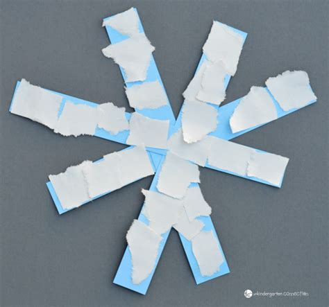 Paper Snowflakes For Preschoolers - easy paper snowflake craft winter activities for
