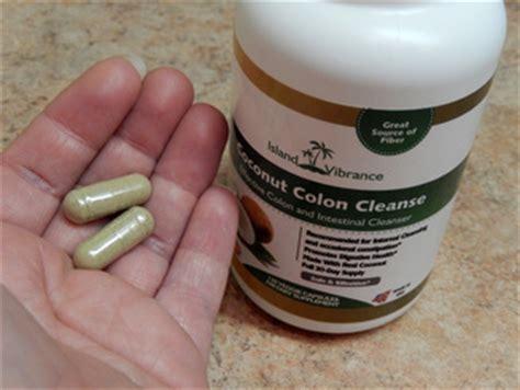 Coconut Colon Detox Island Vibrance by Island Vibrance Coconut Colon Cleanse Pills Reilly