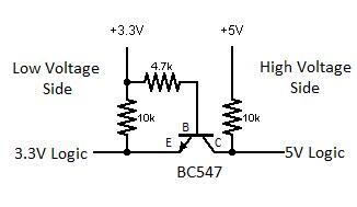 npn transistor level shifter comunicaci 243 n serie entre arduino uno y nodemcu