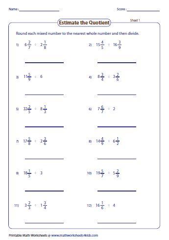 Estimating Fractions Worksheet by Estimating Decimals And Fractions Worksheets
