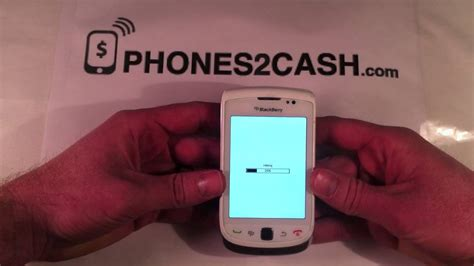 reset blackberry torch how to master reset a blackberry torch 9800 youtube