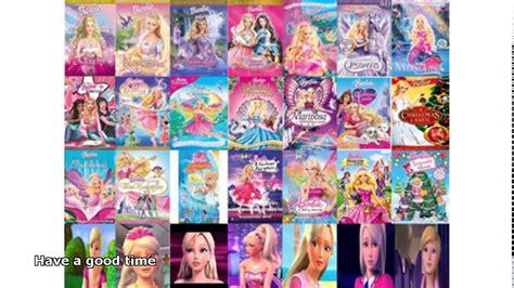 barbie film order barbie movies list youtube