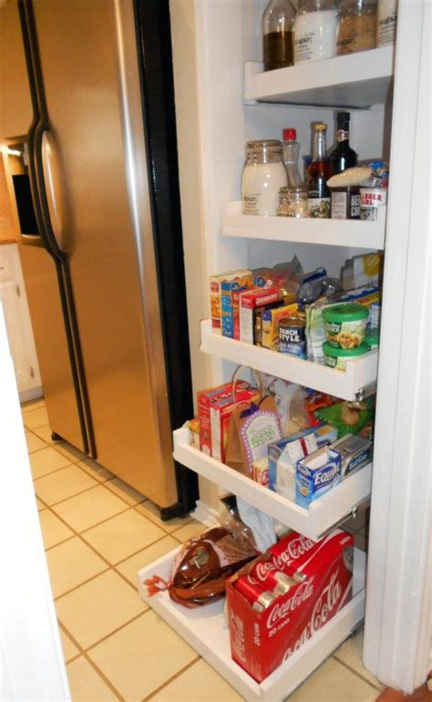 how to build pull out shelves for kitchen cabinets pull out drawers for the pantry for the home pinterest