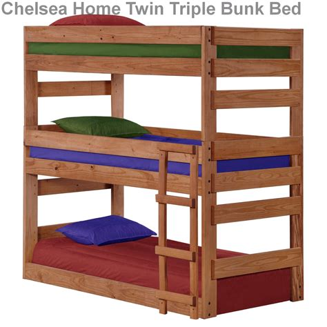 bunks beds best triple bunk beds