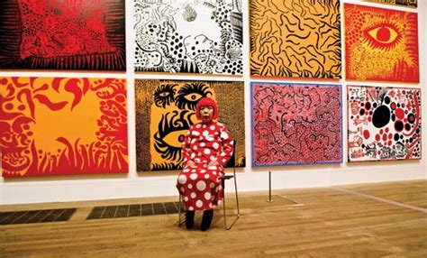 biography of a con artist yayoi kusama biography art facts britannica com