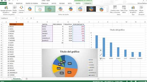tabla de frecuencia variable cualitativa con excel youtube excel 2007 las tablas de datos aulaclic tabla de