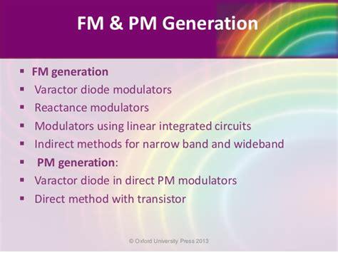 varactor diode fm modulator ppt varactor diode direct fm modulator 28 images transmission modulation reception demodulation