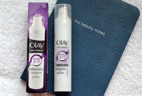 Olay Primer new olay 2 in 1 anti wrinkle primer hayley uk