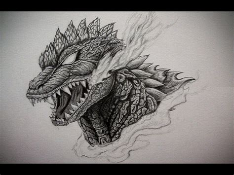 my godzilla chest tattoo design by eason41 on deviantart