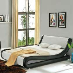Bunk Bed Metal Roma Italian Modern Designer Leather Bed Luxury Leather
