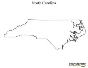 blank carolina map printable map of carolina state map of carolina