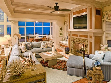 hgtv family room designs coastal living room ideas hgtv