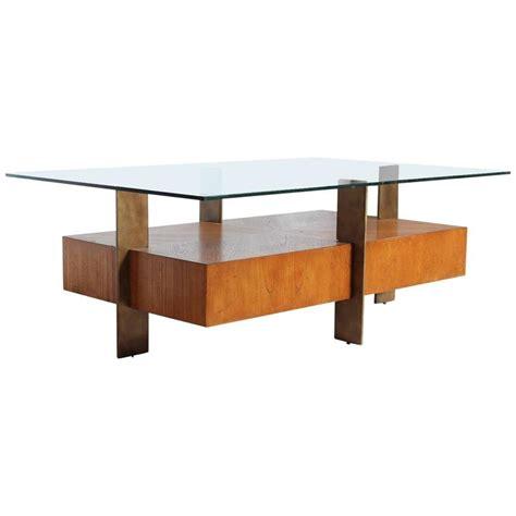 modern wood and glass coffee table modern wood and metal coffee table with glass top for sale