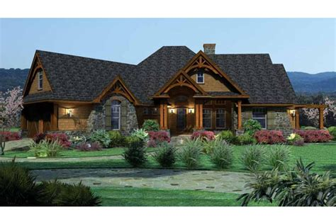 Ranch Home Design Home Plan Homepw09962 2091 Square Foot 3 Bedroom 2