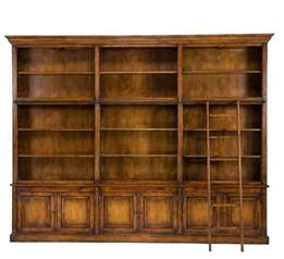 125 quot giordano bookcase library cabinet solid oak wood
