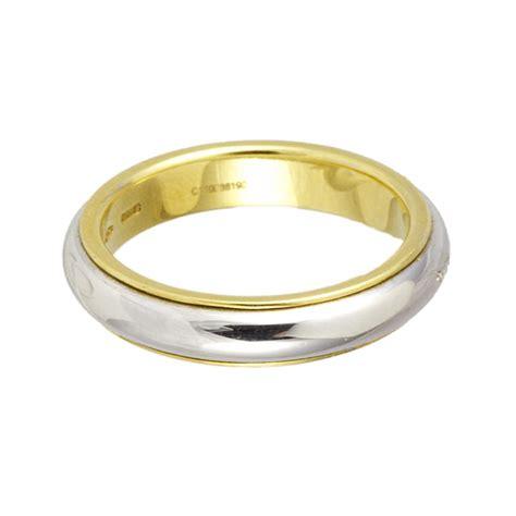 fede pomellato fede in oro bianco e giallo mis 12 pomellato luxuryzone