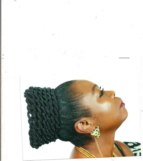 thread hair igbo style threaded african hair styles african hair stylea