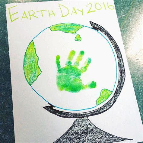 globe craft handprint earth day globe craft crafty morning