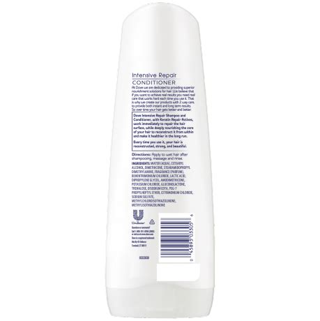 Shoo Dove Intensive Repair dove intensive repair conditioner