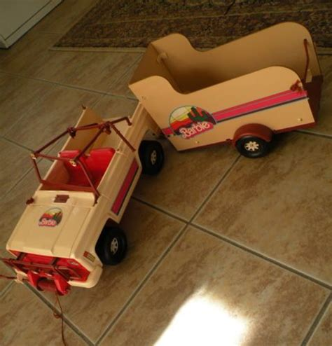 vintage barbie jeep horse trailers horses and barbie on pinterest