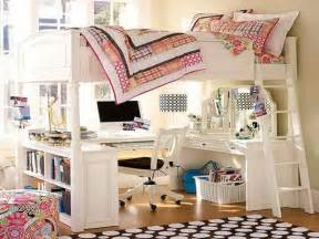 Cute Bedroom Ideas For Small Rooms double loft bed with desk underneath pictures reference