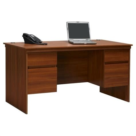 60 Computer Desk Ameriwood 60 Quot Executive Computer Desk In Cherry 9111083st