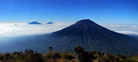 kumpulan foto keindahan gunung sumbing satu jam