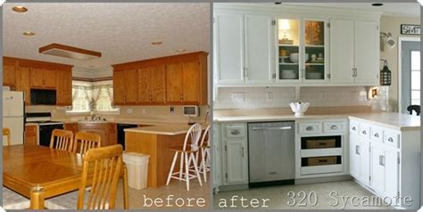Favorite Paint Colors Painting Your Kitchen Cabinets Painting Oak Kitchen Cabinets White Before And After