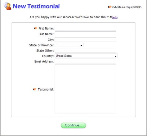Forms And Instructions Autos Post Client Testimonial Template