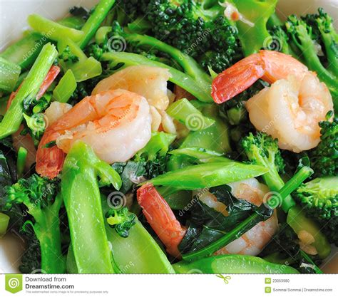 thai better food thai healthy food stir fried broccoli stock photo image