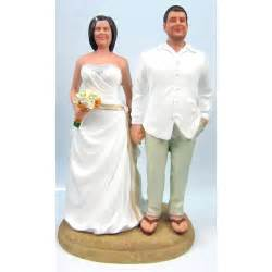 unique and groom custom wedding cake toppers