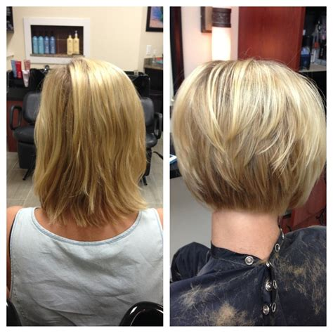 before and after bob haircut photos before and after haircuts for women pinterest