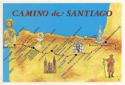 camino walk in spain el camino de santiago i m walking the way across spain