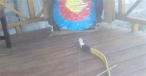 membuat racun anak panah cara membuat busur panah bambu disertai foto gambar