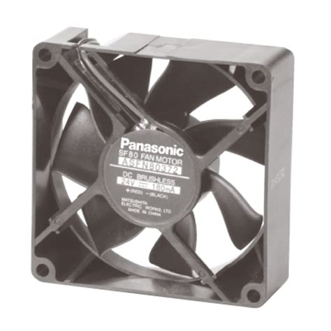 Motor Fan Ac Panasonic asfn84372 dc fan motor 80 x 25t asfn8 automation