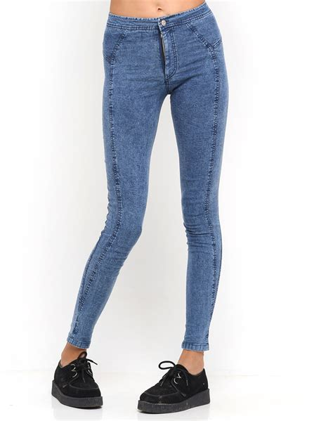 Denim Jn buy motel jilly jean in acid wash denim at motel rocks