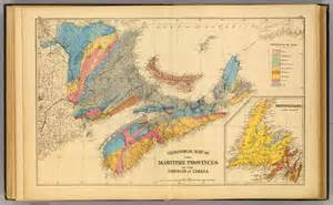 canada geological map maritimes canada map images