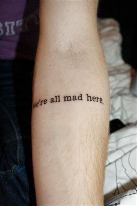 alice in wonderland tattoo quotes tumblr
