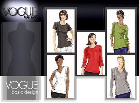 t shirt sewing pattern vogue vogue patterns 8536 misses top
