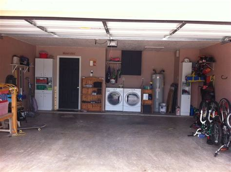 Garage remodeled, painted walls, chalkboard paint on door