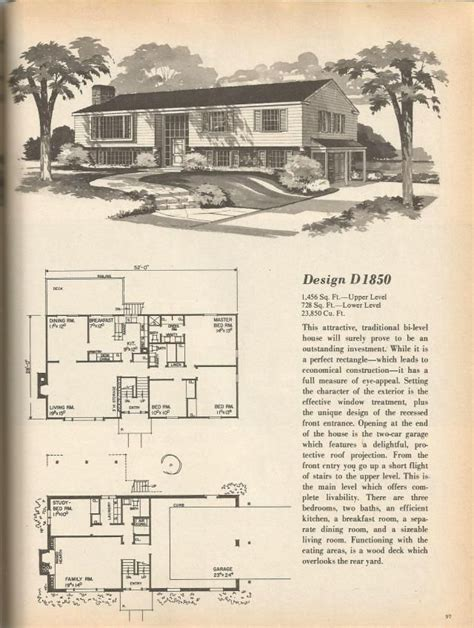 1970s house plans 146 best images about vintage house plans 1970s on
