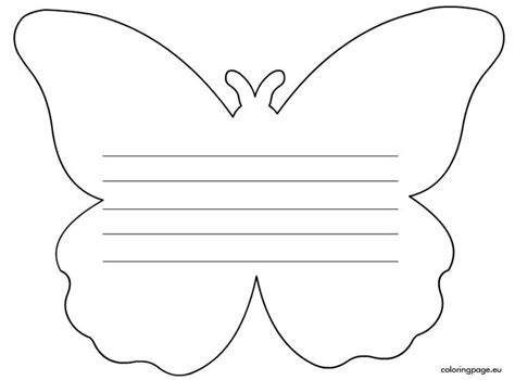 butterfly writing paper writing paper butterfly s day